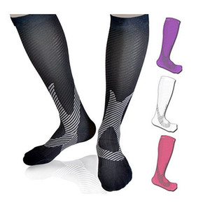 Hot Selling Pressure Stockings Legs Compression Men Women Multi Color Breathable Soft Wear-resistant Stocking 2019 Sports socks