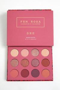 في المخزن!! 12 لون ظلال العيون Colourpop Cosmetics Fem Rosa She وأعتقد أنني أحبك