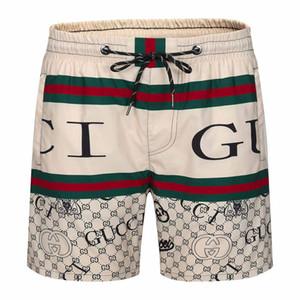 2020er Designer-Stil wasserdichtes Gewebe Runway Hose Sommer-Strandhosen der Männer Boardshorts Männer Surfen Shorts Badehose Shorts