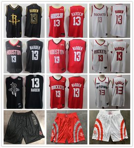2020 James Harden Basketball Maillots James Harden Hommes City Home James Harden 13 Édition Jersey Cousu Version chinoise Top Qualité