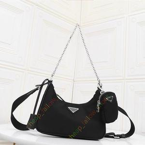 Alta qualità di modo nuova borsa del progettista 2 pezzi borsa tracolla trasversale corpo del telefono mobile sacchetto del raccoglitore di trasporto libero donne di modo di