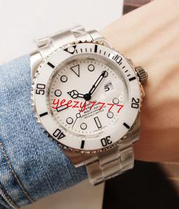 رجل جديد الموضة الساعات سيد 116610 116613 116619 بامفورد أبيض الهاتفي مدي السيراميك الميكانيكية حركة أوتوماتيكي رجل ساعة يد فاخرة