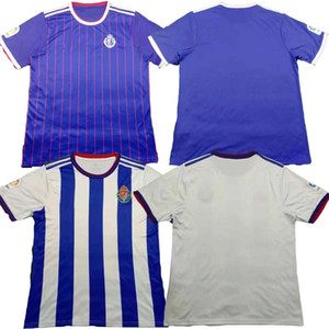 Real Valladolid 19 20 بلوزات كرة القدم KIT 2019 2020 Real Valladolid HOME away Jaime Mata Michel Borja Luismi Jaime قمصان كرة القدم