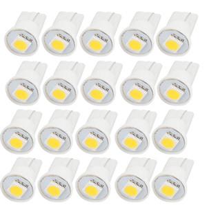 ксеноновая лампа контрольной лампы белого света 1SMD LED BA9S T10 5050 Белая долговечная панель приборов Ширина дверного освещения для авто