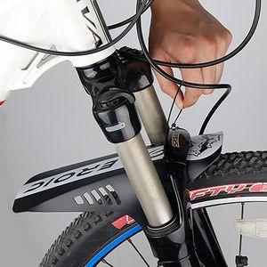 Acessórios da bicicleta Frente Mud Guard Mud Protector impermeável portátil MTB Road Cidade Prático moda Guarda-lamas da bicicleta Fender