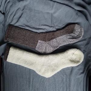 Мужская Шерсть Флис Шерстяные Теплая рождественские зимние дышащие носки Мужского 41-46 One Pair