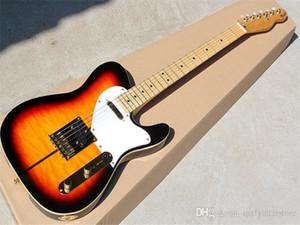 Электрическая гитара с Merle Haggard Signature Tuff-Dog-Super редкий, пламя клена / шея, предлагая индивидуальные услуги