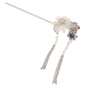 Clear Crystal Flower Large Pin Classic Safety Breastpin for Quilting Blanket Fasten Holder Clip