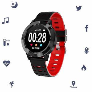 CF58 intelligente Guarda sanguigna La pressione sanguigna ossigeno Heart Rate Monitor intelligente polso fitness Inseguitore della macchina fotografica Bracciale di sport per iPhone Android