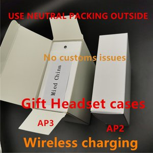 Air Gen 3 AP3 H1 Chip Neutral outer packing Wireless Charging Bluetooth Headphones Pods 2 AP Pro AP2 W1 Earbuds 2nd Generation