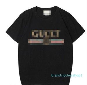 Роскошные мужские футболки Женщины Brandshirts Designerluxury Женщины футболка с коротким рукавом Мода Повседневная Лето тройники 2022802Q