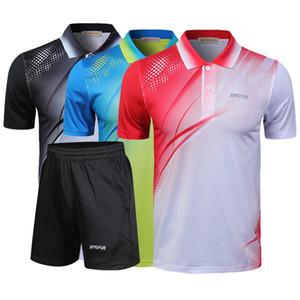 Nuova camicia di tennis, tennis abbigliamento sportivo per uomo e donna, ad asciugatura rapida traspirante tavolo volano maglietta, trasporto libero