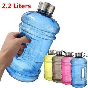 Glorystar 2.2L Sport Big boisson grande bouteille d'eau Cap Bouilloire Sans BPA Sport Gym Formation