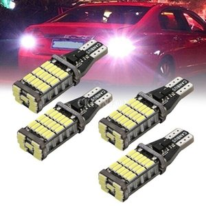 100pcs / Lot Ampoule Led T15 T16 W16W 45SMD 4014 Led voiture inverse Retour Ampoules 12V 6000K Blanc Lampe automatique d'éclairage Signal