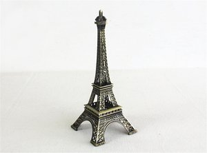 Vintage decoration for home world famous tower in Paris Metal building model gifts craft ornaments desktop Decoration