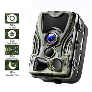 Suntek HC-801A 사냥 트레일 카메라 0.3 초 트리거 시간 밤 버전 사진 트랩 1 6MP 1080 마력 IP65 야생 동물 사냥꾼 카메라 fotopast