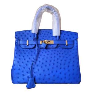Pelle Donna Bag 2019 New-europea Moda e stile americano Tracolla retro borsa di struzzo Pelle bai da bao spedizione gratuita