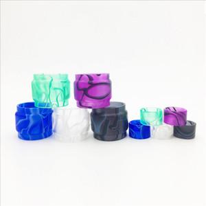 Acrylic resin kit tubo per TFV16 serbatoio ausiliario Ohm Re atomizzatore Fat Estendere espansione Lampadina Set con resina tubo gocciolatoi Tip Ecig