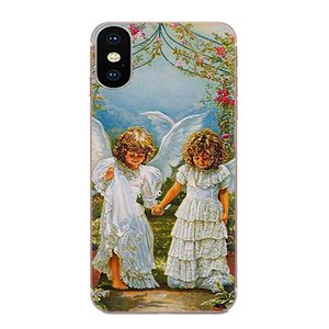 Custom Vintage Style Cute Little Angel For Xiaomi Mi3 Mi4 Mi4C Mi4i Mi5 Mi 5S 5X 6 6X 8 SE Pro Lite A1 Max Mix 2 Note 3 4