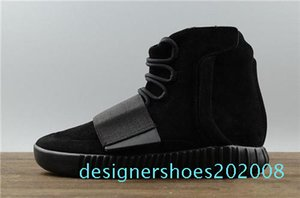 19designer shoes Kanye West 750 boots Light Grey Brown sneakers Triple Black basketball shoes 750 basketball shoes Outdoor jogging shoe d08
