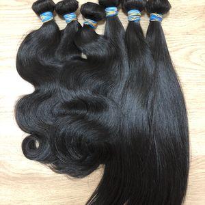 BeautyStarQuality crudo de Malasia indio recto sedoso del Donante de pelo individual Un corte de pelo Las extensiones pueden blanqueado muy blanca Pelo rubio