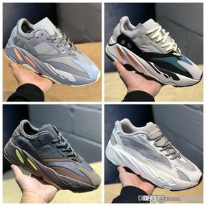 2019 Static 700 v2 Wave Runner Mauve inércia Running Shoes game Men Women Solid Grey B75571 sports Designer Atletismo Sneakers us 5-12