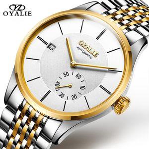 New Fashion Men Watches Analog Quartz Wristwatches 30M Waterproof Chronograph Sport Date Steel Band Watches New Fashion Men Watches Analog