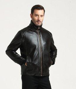 Per le persone di mezza età e gli anziani in autunno e inverno, i capispalla in PU di alta qualità in pelle scamosciata sono i cappotti invernali in pelle da uomo.