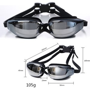 Adult SZ -2.00 TO -8.00 HD Professional Swim Glasses Eyewear Myopia Nearsighted Swimming Goggles