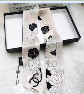 El diseñador de moda de la Seda BOLSO bufanda Las vendas nuevas scraves de lujo de las mujeres de seda 100% del pelo Bandas grado superior de seda bolsa bufanda