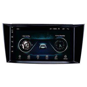 8-дюймовый Android 9,0 GPS навигации Автомобильный радиоприемник для 2001-2010 Mercedes Benz E-Class W211 / W219 CLS / CLK W209 / G-Class W463