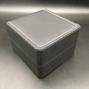 Small Light Black Watch Box Story Box PU Leather Orologi da viaggio Scatole di viaggio Caso dell'organizzatore di archiviazione 11 * 10 * 9 cm