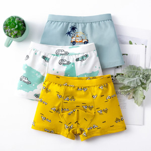 3pcs Children Boy Underwear for Kids Boxer Panties Cartoon Car Shorts Soft Cotton Boy Underpants Teenage Panties Kids 3-16Y