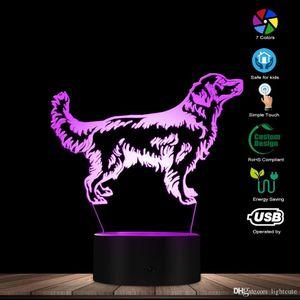 DID Night Light Light Speciz Name Pet Visual Desk Lamp Decorative Lighting Puppy Light Dogd Lover