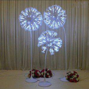 جديد وصول مضيئة الهندباء تصميم الطريق الزفاف استشهد أضواء للحزب الحدث الرقص تي محطة الديكور الدعائم الإمدادات