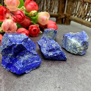 Creativo 200g natural áspera piedra lapislázuli de Afganistán Raw Cristal Cristal Piedras curativas Mineral decoración de piedra
