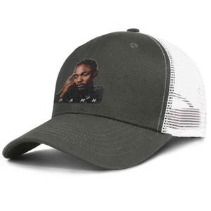 Kendrick Lamar DAMN Poster army_green erkek ve kadın kamyon şoförü kap beyzbol stilleri tasarımcı spor şapkalar