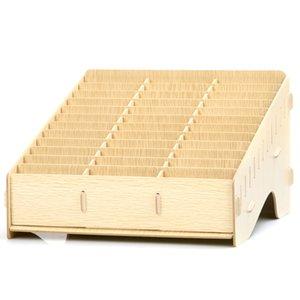 suporte do telefone multi-celular de madeira de gerenciamento de telefonia móvel caixa de armazenamento de desktop reunião do escritório sala de aula terminar cartão de visita
