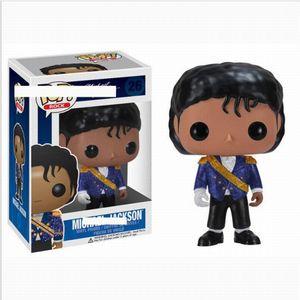 New Funko Pop Beat It Billie Jean Bad Michael Jackson Действия Рисунок Продвижение игрушки Подарочная коллекционная модель