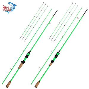 RoseWood 2.1m Spinning Baitcasting Rod For Fishing 3 Tips L ML M 7 Feet Carbon Casting Fishing Rod 2 Sections Lure Rod