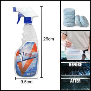 Toptan Araba Cam Cam Yıkama Temizleme Sprey 10 adet Ölçekli Temizleme Dekontaminasyon Efervesan Tablet Temizleyici Seti Şişe DH0625 T03