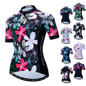 Weimostar Women's Cycling Jersey MTB Bike Jersey Short Sleeve Bicycle Shirt Pro Team Cycling Clothing Maillot Camisa Ciclismo