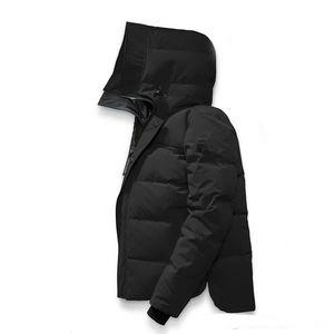 Homens Mac Homme Inverno de Down Jassen Homme Chaquetas Casacos com capuz Fourrure Manteau Canadá Down Jacket Brasão Hiver Doudoune