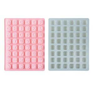 Baking Tools Cake Letter Mold Silicone Chocolate Alphabet Mold Form For Ice Chunk DIY Gift Maker Pudding Candy Craft Mould
