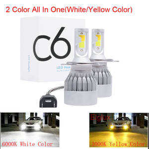 2pcs 60W 12000LM Car LED Headlight Bulbs H11 9006 HB4 9005 HB3 H4 H7 H8 H9 H1 Mini Headlight Kit for High Beam Bulb fog Light
