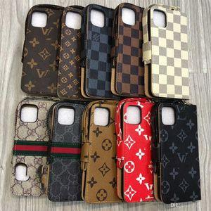 New Designer Phone Case carteira de couro para iPhone Para o Caso 11 11Pro Max Xr Xs Max 7 8 Plus caso clássico Casos de telefone de luxo