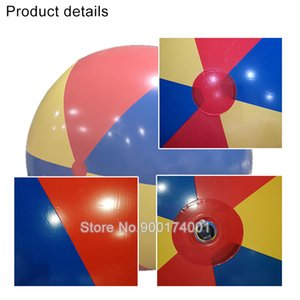 Free shipping 1pcs Hot Sale Baby Kids Adult Beach Pool Play Ball Inflatable Children Pvc Educational Soft Learning Toys 200cm
