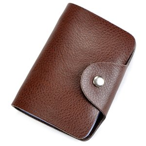 Charm2019 Leather Genuine Package Doka Position Set Bank Business Card Mix Ma'am Man Clip Cowhide