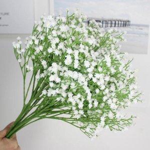 Künstliche Blumen Gypsophila Hochzeit Dekoration Silk Blumen Braut mit Blumen-Blumenstrauß-Partei-Dekorationen Wohnkultur XH1087