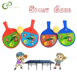 1 pair Outdoor Sports Kids Toys child dual table tennis pingpong racket for Children Toy Funny Outdoor Games Kids Gift